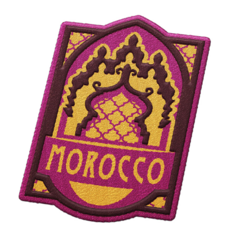 Morocco Patch