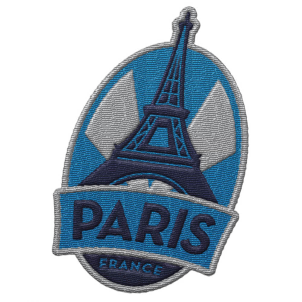 Paris France Patch