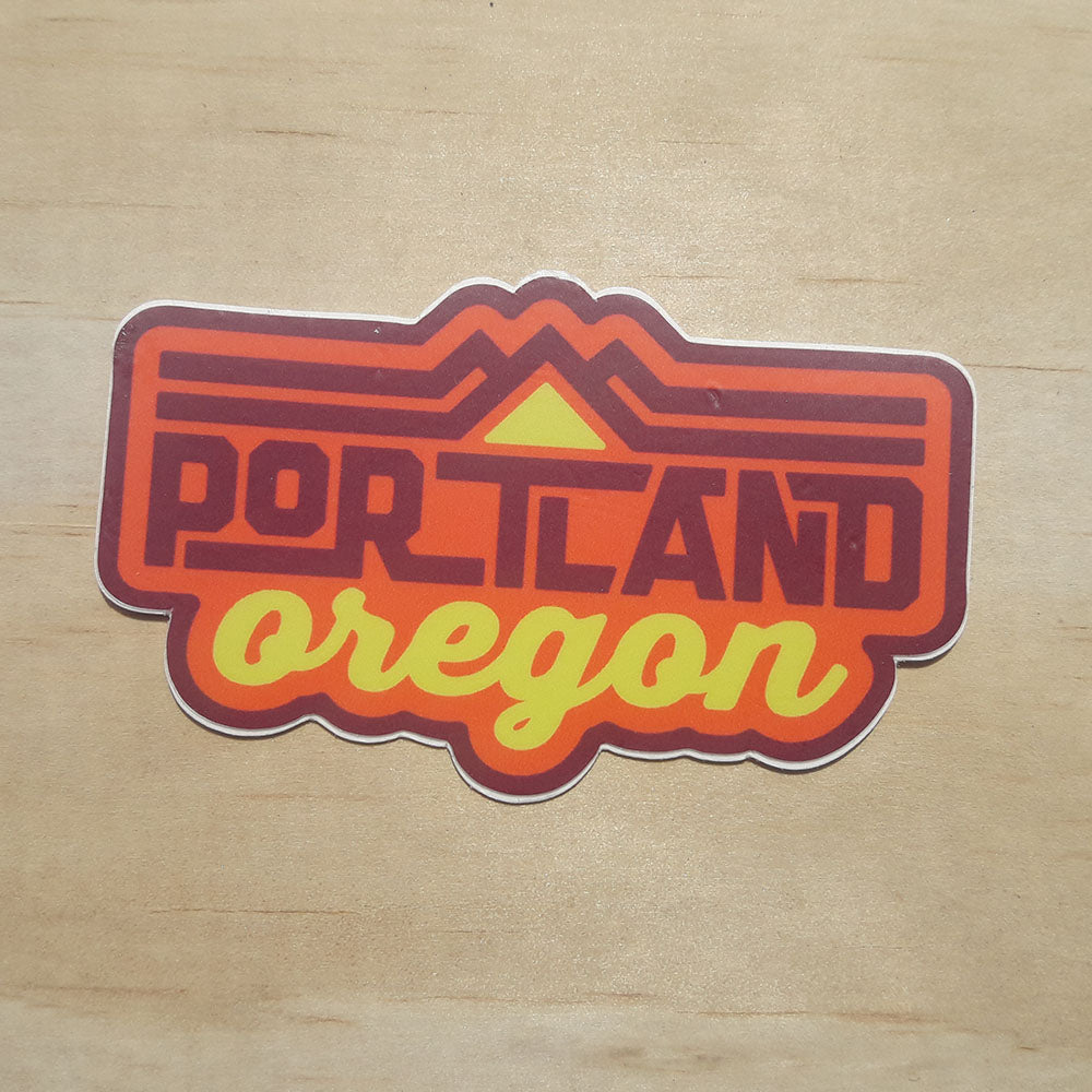 Portland Oregon Weatherproof Sticker