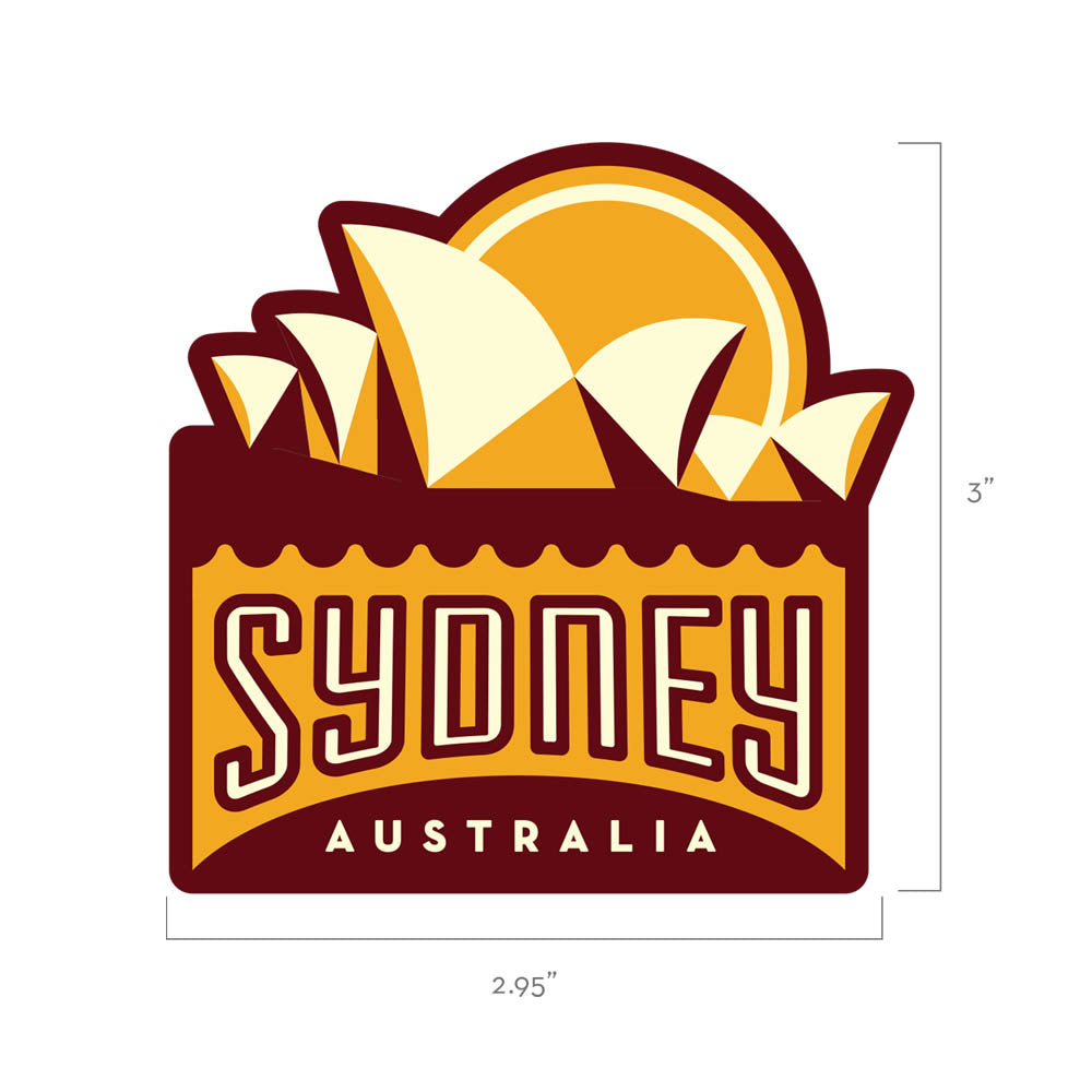 Sydney Australia Travel Patch