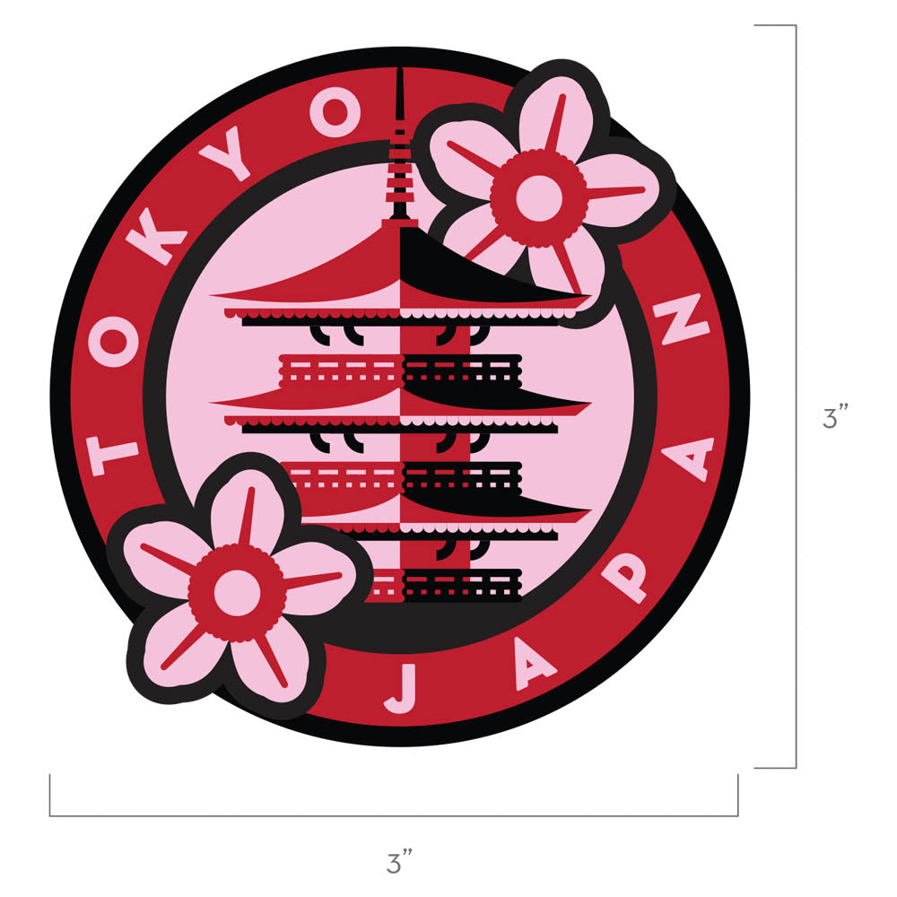 Tokyo Japan Patch
