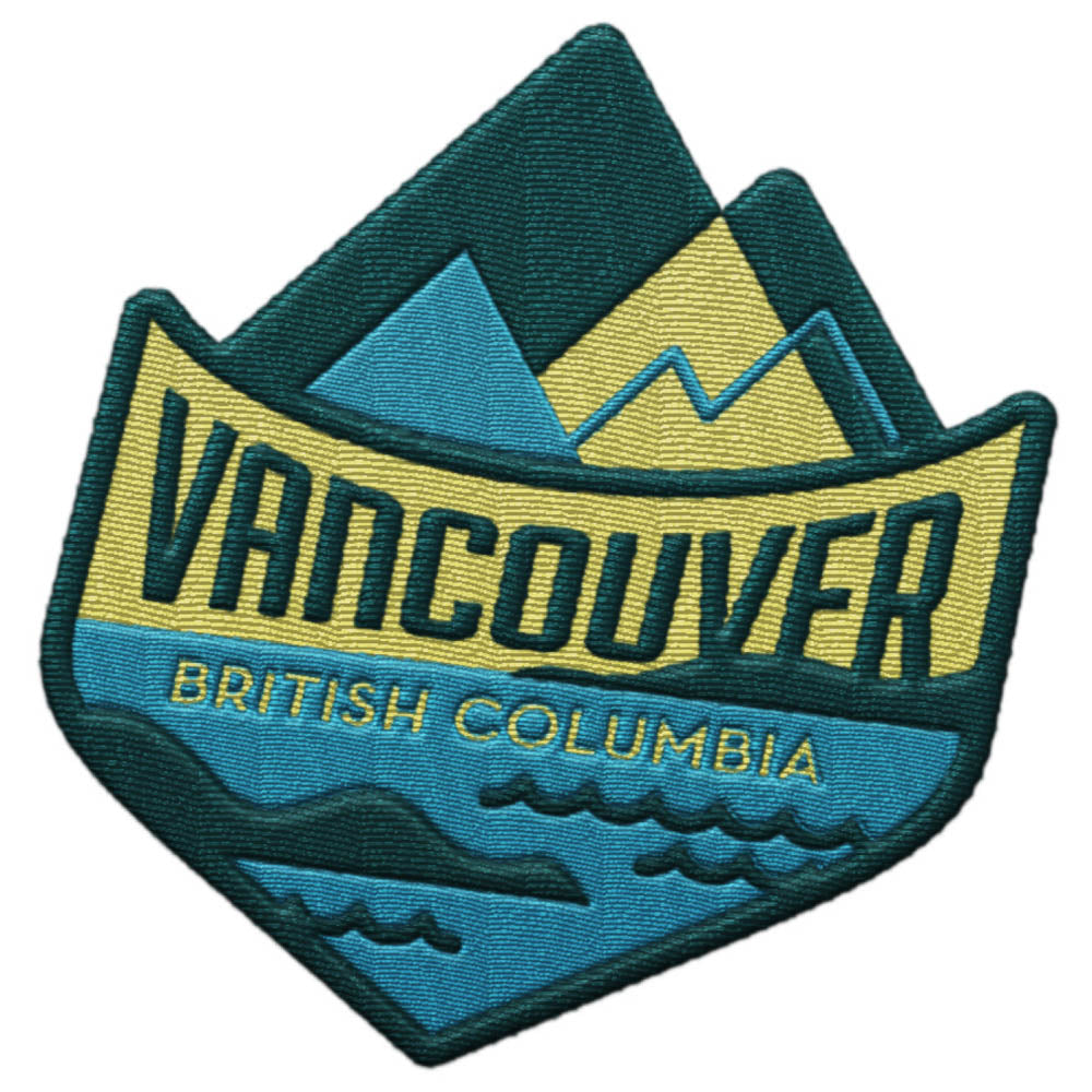 Vancouver BC Travel Patch