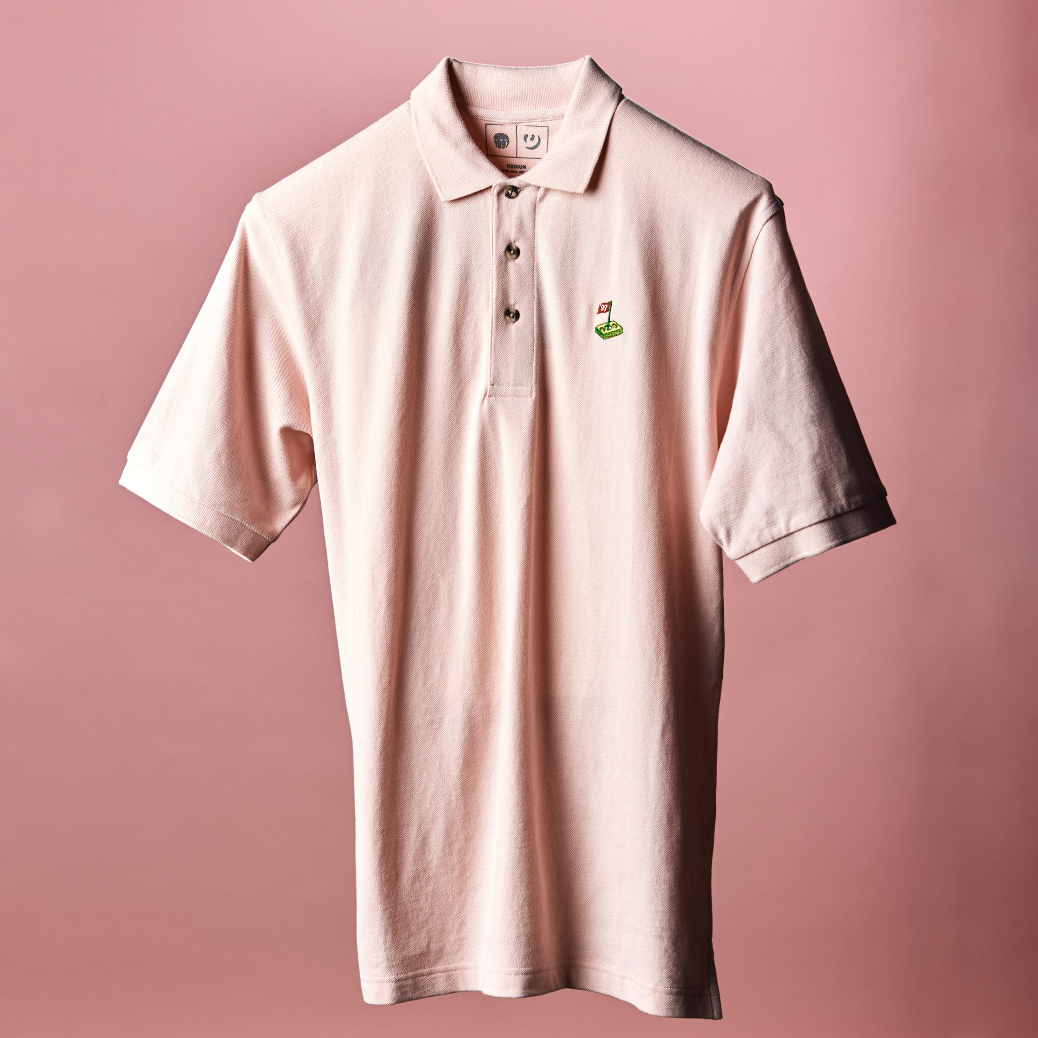 Puffy Woods Polo - Pink