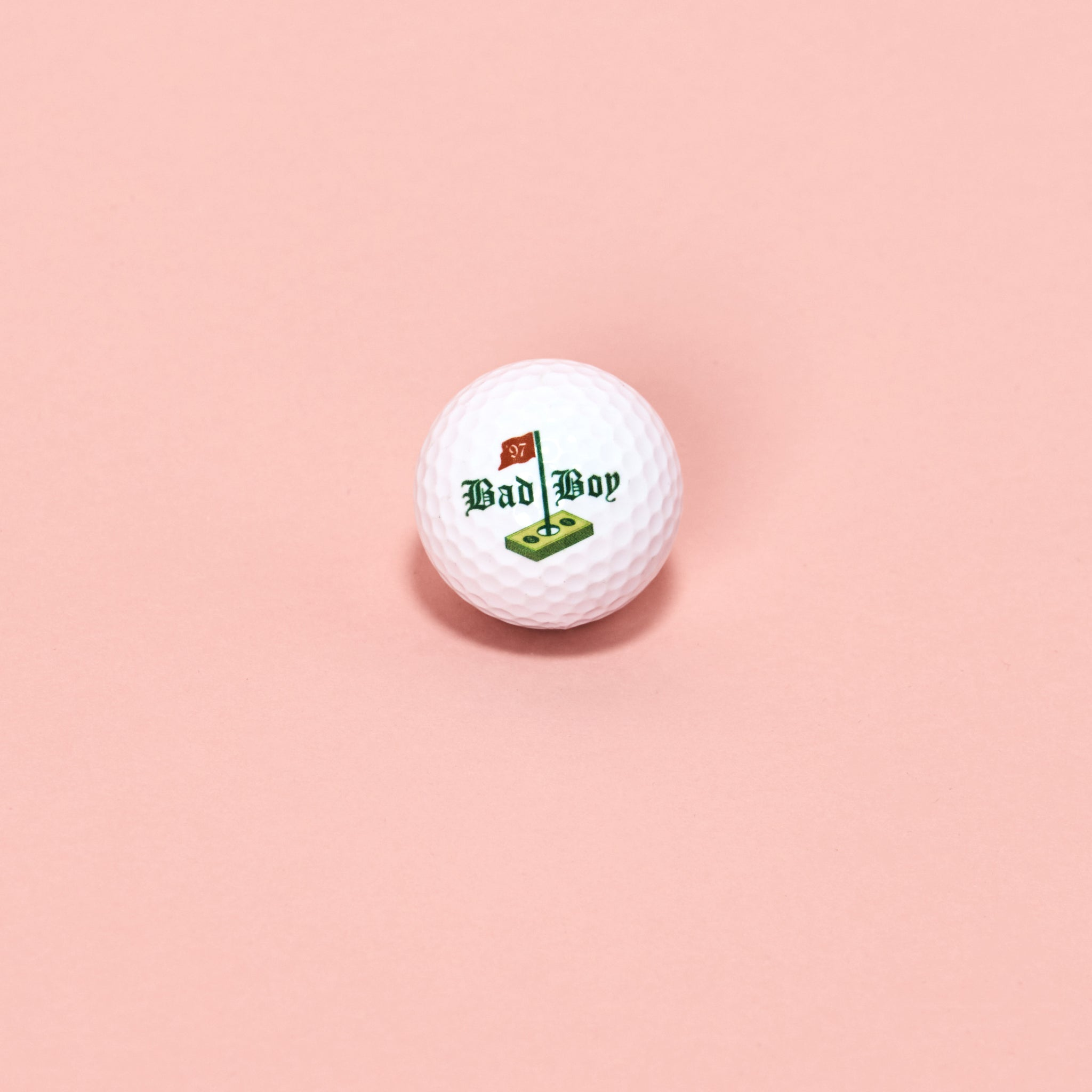 Puffy Woods Golf Ball