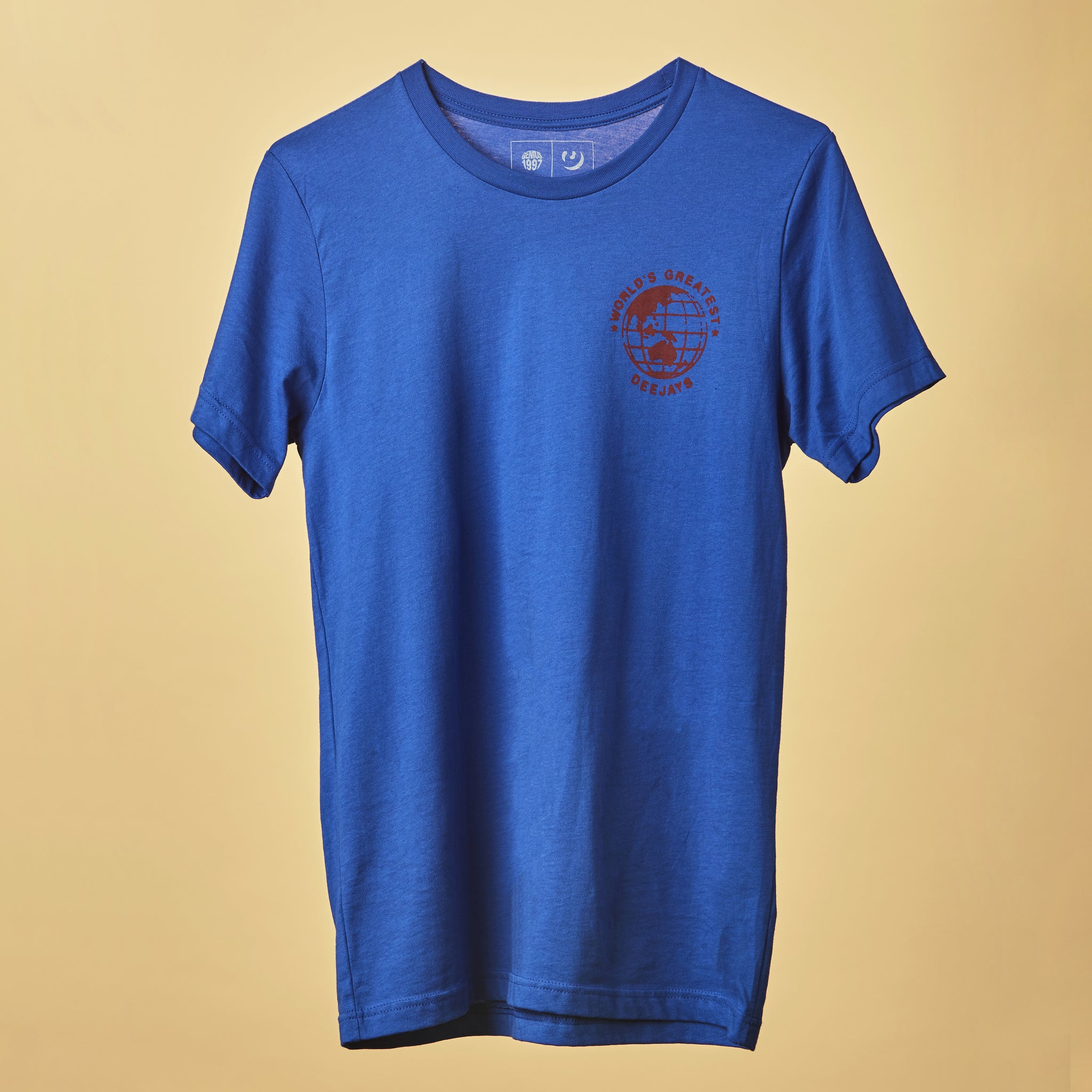 World's Greatest Deejays Tee - Blue