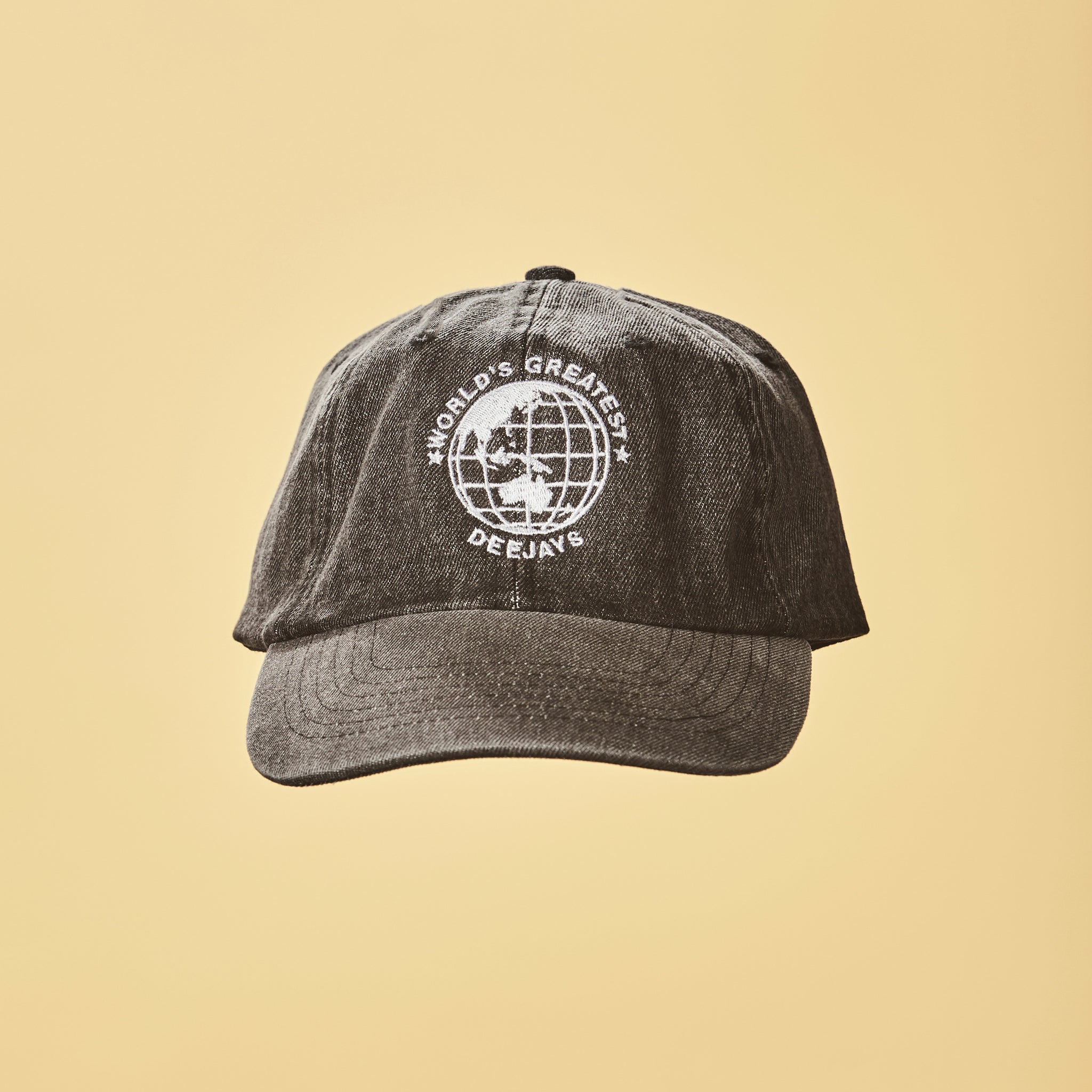World's Greatest Deejays Hat - Grey Denim