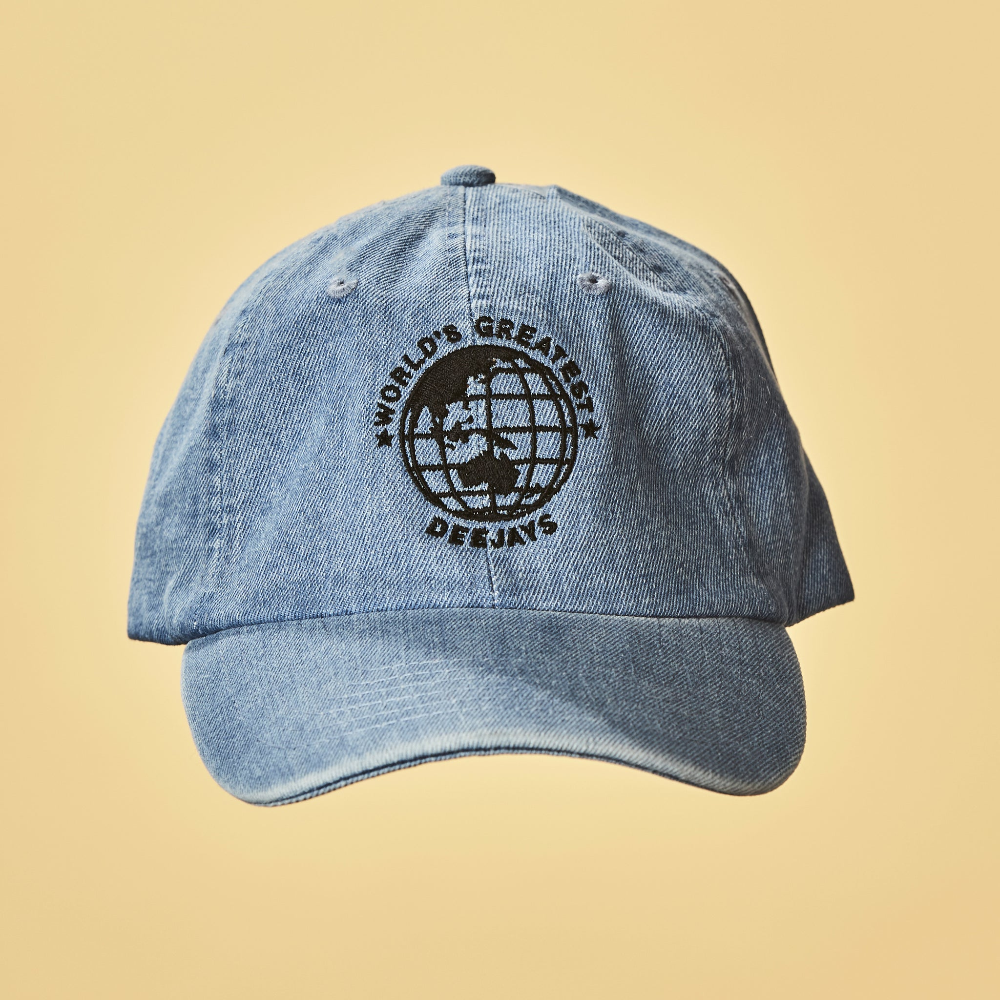 World's Greatest Deejays Hat - Light Denim