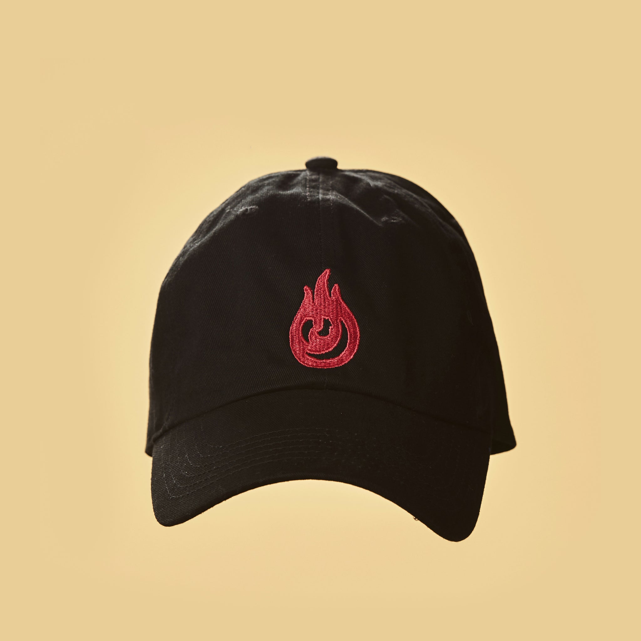 Flame Sgnarly Hat - Black
