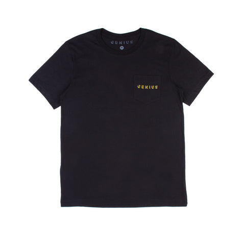 Pocket Tee in Black