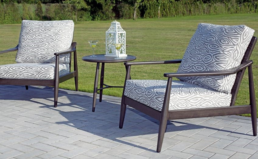 Generally Patio Chat Sets Seat 4 6 People But Can Be Easily Made To  Accommodate 8 10 With The Proper Size Table. One Of The More Popular  Options People Add ...