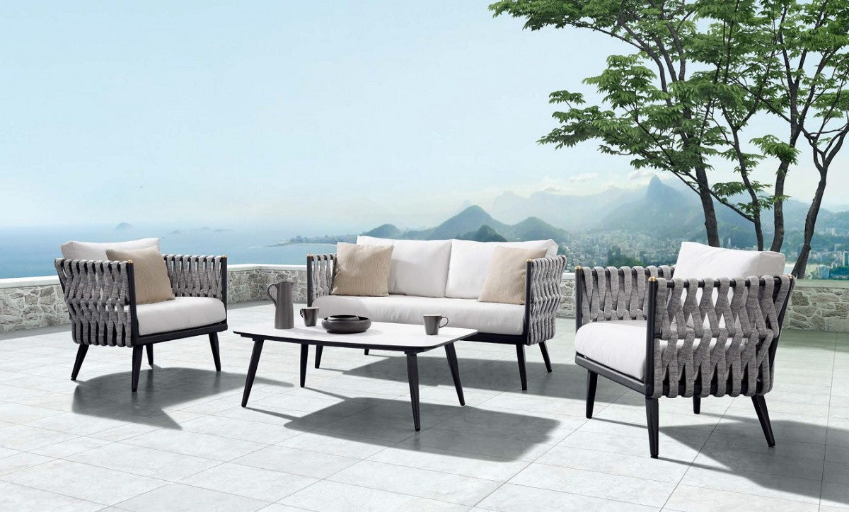 the ultimate outdoor retreat only made possible by the perfect outdoor patio living room set sofas loveseats club chairs coffee and end tables - Patio Living