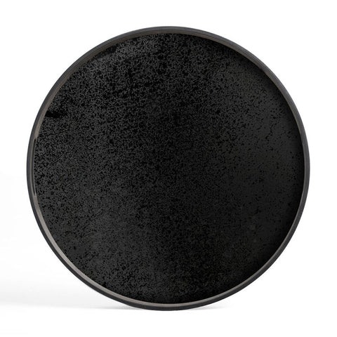 Charcoal Mirror Small Tray