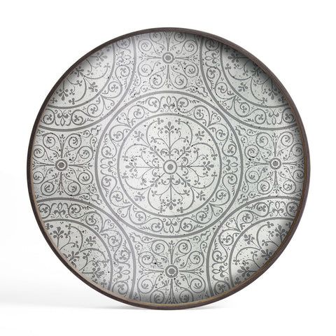 Moroccan Frost Large Mirror Tray