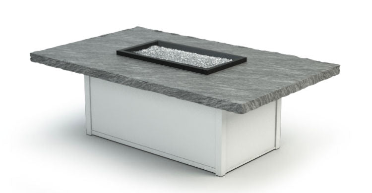 "Slate 36""x60"" `Rectangle Fire Table"