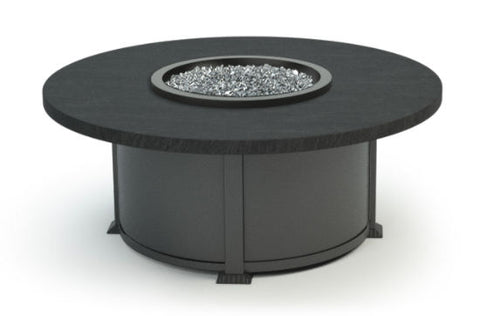 "Slate 48"" Round Fire Table"