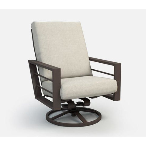 Sutton High Back Swivel Chat Chair