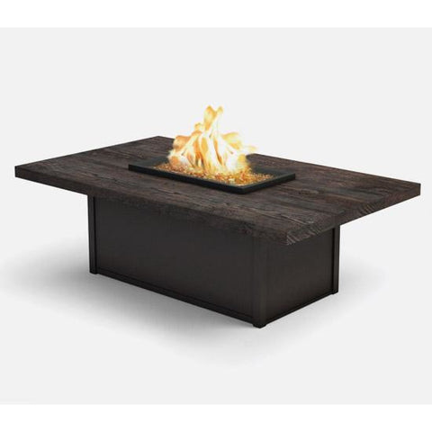 "Timber 36""x60"" Rectangle Fire Table"