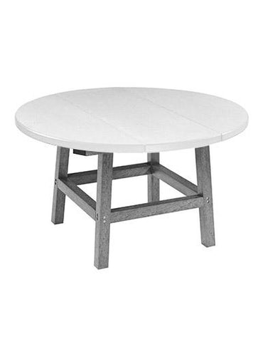 "CR Plastic products 40"" Round Cocktail table"