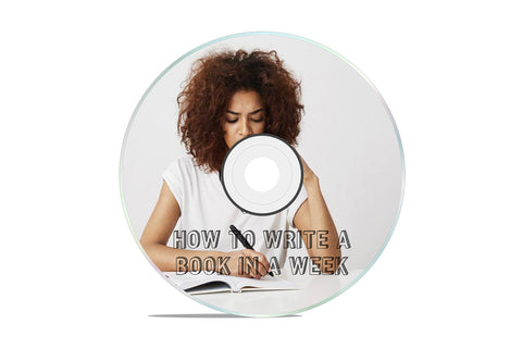 HOW TO WRITE A BOOK IN A WEEK VIRTUAL CLASS