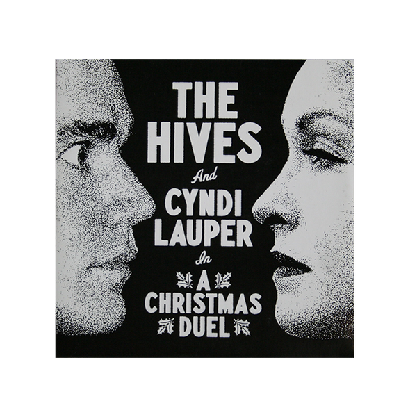 The Hives & Cyndi Lauper - A Christmas Duel 7""
