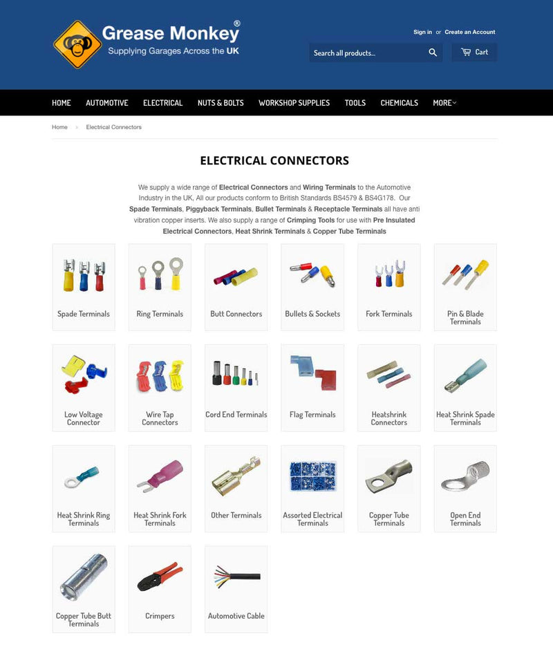 Electrical Connectors Section Updated