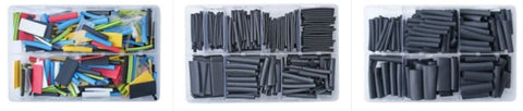 assorted boxes of heat shrink tubing
