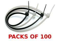 cable ties - packs of 100