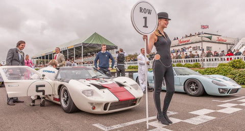 goodwood revival vintage car show