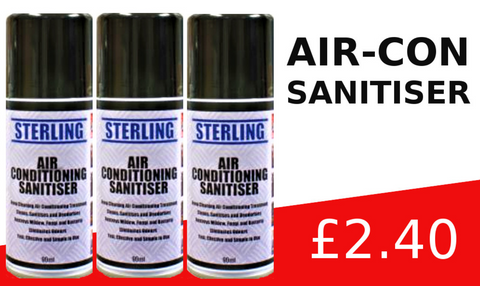 air con sanitiser