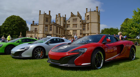 sherborne castle car show