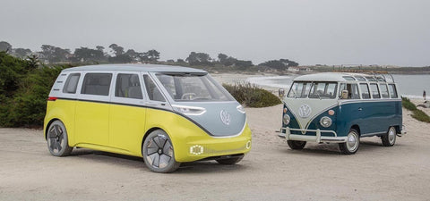 the new vw camper van