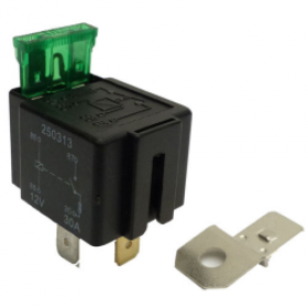 Relay 4 Pin, 12v, 30A | Fused Relay