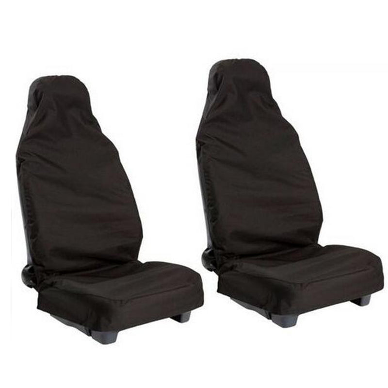 Heavy Duty Nylon Front Seat Covers | 2 Pack