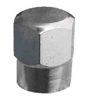 hex chrome tyre valve cap