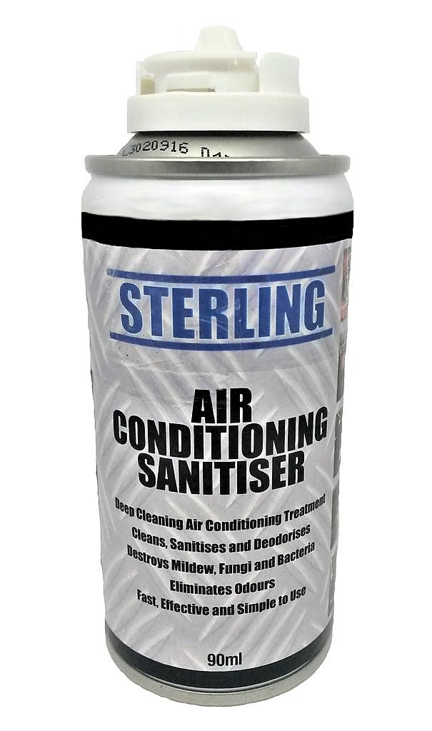 air con sanitiser aerosol spray