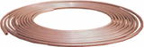 Coil of brake pipe - soft copper