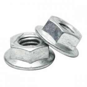 steel flanged nuts