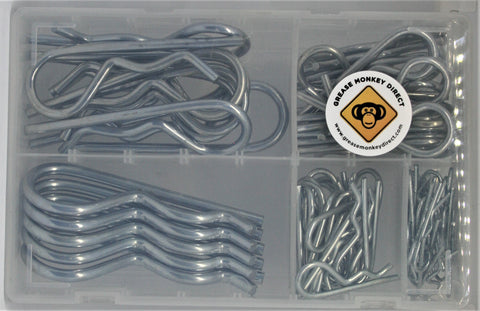 box of assorted r clips