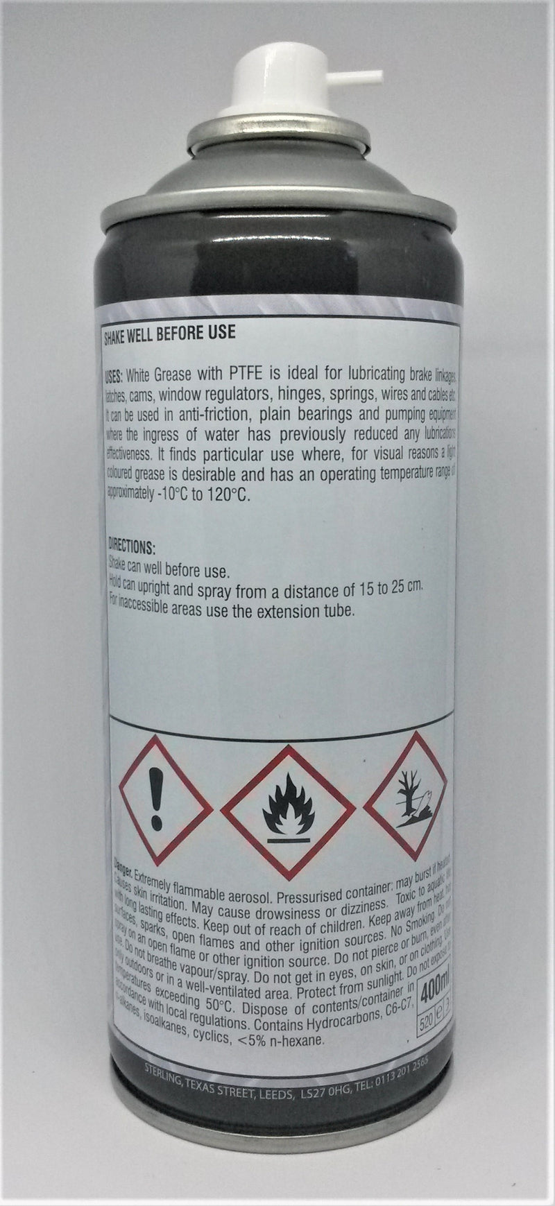 rear of can with directions for use