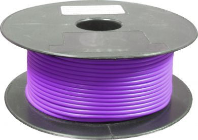 Purple Single Core Automative Standard Electrical Cable
