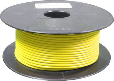 Yellow Single Core Automative Standard Electrical Cable