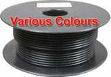 Thin Wall Cable 28/0.30 (2.0mm²) 25 amp- Single, Various Colours