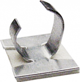 Adhesive Cable Clips - Metal 6mm (250)