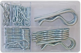 box of assorted r-clips