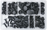 Assorted Trim Clips - Black Fir Trees | Qty: 265