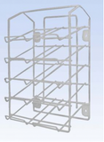 rack for plastic boxes