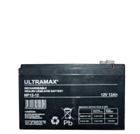 12 volt rechargeable sealed lead acid battery