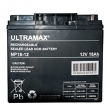 rechargeable sealed lead acid battery 18 Ah