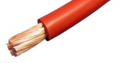 red flexible battery cable