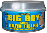 car body filler with glass fibre
